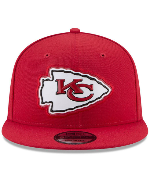 New Era Kansas City Chiefs Bold Bevel 9FIFTY Snapback Cap. Headz n ... c0e9da957