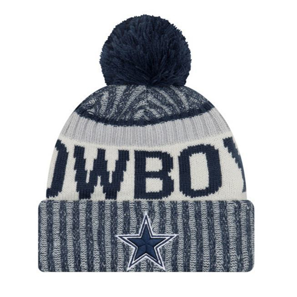 Picture of New Era Dallas Cowboys New Era Sideline Sport Knit Hat