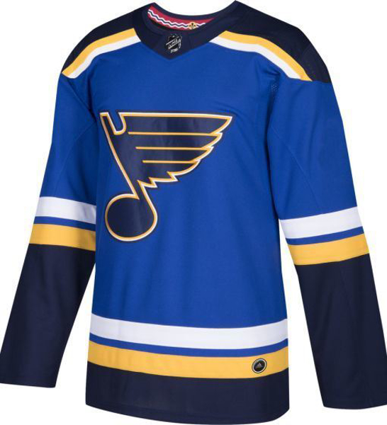 Picture of St. Louis Blues Adidas Authentic Home NHL Hockey Jersey