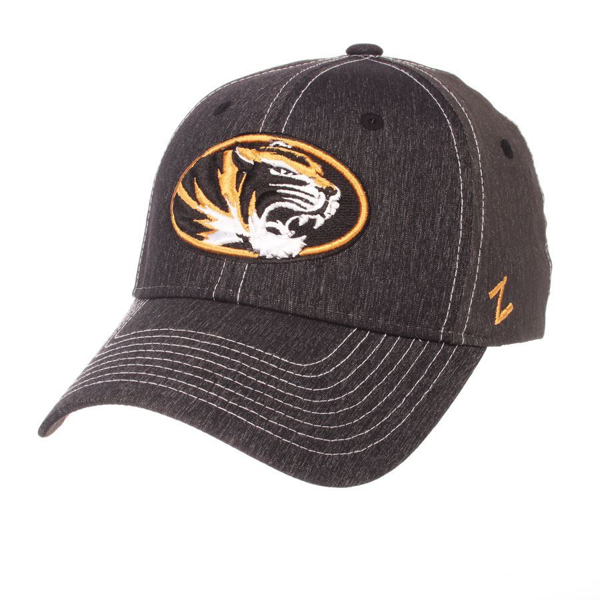 Picture of Missouri Tigers Dusk Tiger Oval Zephyr Hat