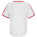 Picture of Men's St. Louis Cardinals Majestic White Home Cooperstown Cool Base Team Jersey