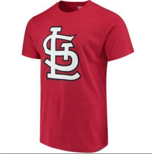 Picture of Men's St. Louis Cardinals Knockout Fieldhhouse '47 Red T-Shirt