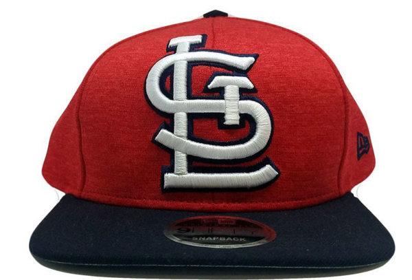 Picture of New Era St. Louis Cardinals Heather Huge Snapback Heather Red/Black
