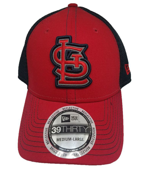 Picture of St. Louis Cardinals Pop flect logo 39THIRTY fitted hat from New Era