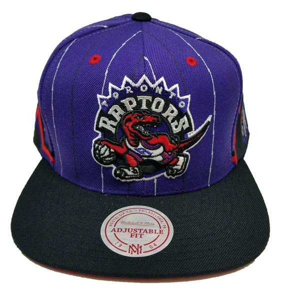 e58c1d5823c81 Toronto Raptors Mitchell   Ness NBA Team Snapback Cap. Headz n ...