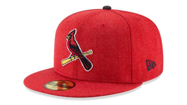Picture of Men's St. Louis Cardinals New Era Heather Hype 59FIFTY Fitted Hat