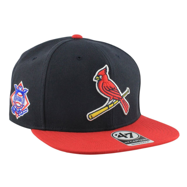 Picture of St. Louis Cardinals Sure Shot 2Tone Blue/Red Snapback