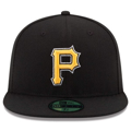 Picture of Pittsburgh Pirates New Era Alternate Authentic Collection On-Field 59FIFTY Fitted Hat - Black