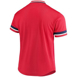 Picture of Men's St. Louis Cardinals Mitchell & Ness Red Mesh V-Neck Jersey