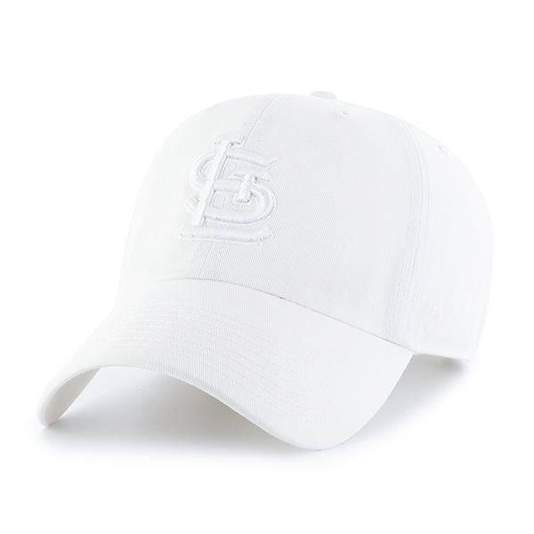 Picture of '47 Brand White St. Louis Cardinals Clean Up Cap