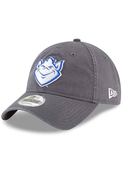Picture of New Era Saint Louis Billikens Mens Grey Core Classic 9TWENTY Adjustable Hat, Grey,