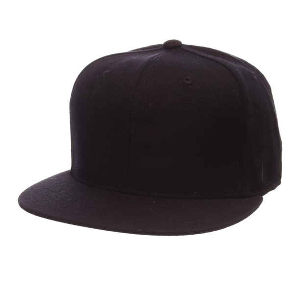 Picture of Zephyr Blank Zwool 32/5 Fitted Black Hat