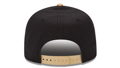 Picture of Youth New Orleans Saints New Era Black/Gold Baycik 9FIFTY Snapback Adjustable Hat