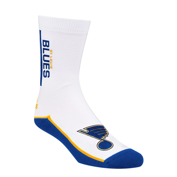 Picture of St Louis Blues Adidas Stripe Mens Crew Socks