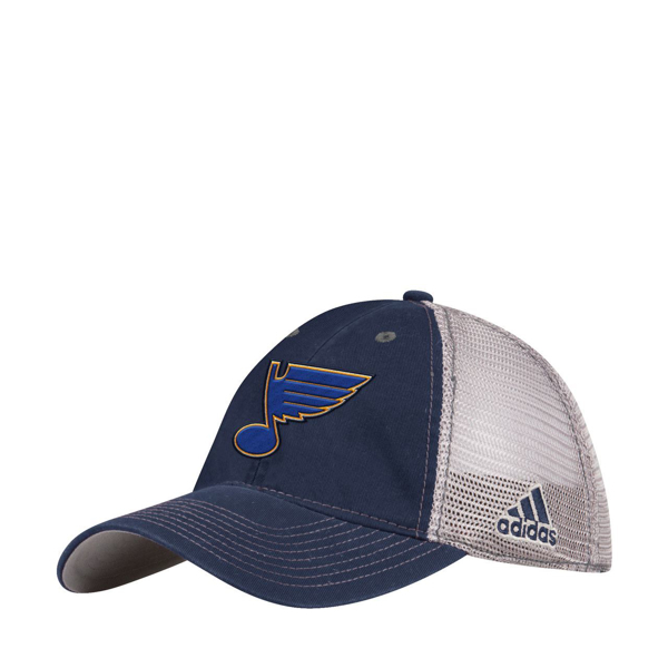 Picture of St. Louis Blues Adidas Meshback Flex  Slouch Hat