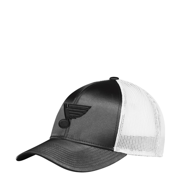 Picture of St. Louis Blues W Meshback Black Hat Adjustable