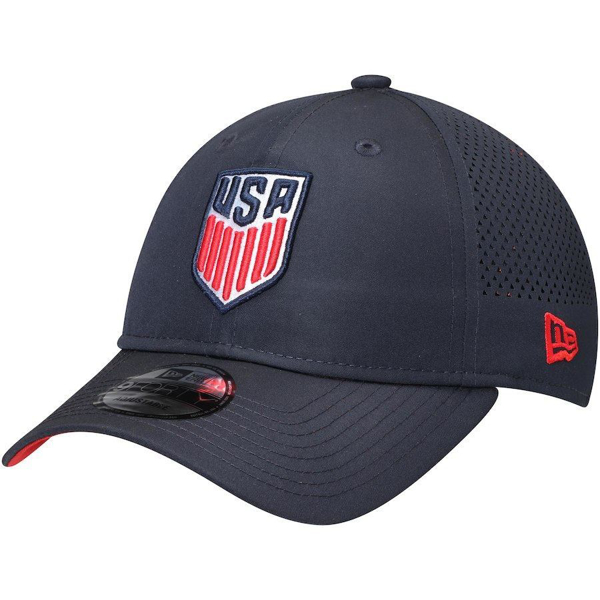 Picture of New Era U.S. Soccer 3-Star Perf Pivot 2 9FORTY Hat - Navy
