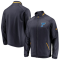 Picture of Men's St. Louis Blues Fanatics Branded Navy Authentic Pro Rinkside Full-Zip Jacket