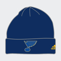 Picture of Men's St. Louis Blues adidas Blue Basic Cuffed Knit Hat - Navy