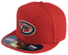 Picture of Men's Arizona Diamondbacks New Era Maroon Game Authentic Collection On-Field 59FIFTY Fitted Hat