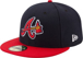 Picture of Men's Atlanta Braves New Era Alternate Authentic Collection On Field 59FIFTY Performance Fitted Hat