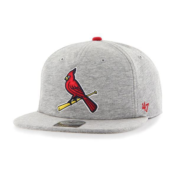 Picture of Men's St. Louis Cardinals '47 Grey Buzz Sure Shot Snapback Adjustable Hat