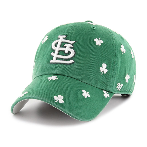 Picture of St. Louis Cardinals St. Pattys Tourist Kelly Green 47 Brand Cleanup