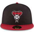 Picture of Arizona Diamondbacks New Era Authentic Collection On-Field 59FIFTY Fitted Alternate 2 Hat - Black/Red