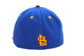Picture of St. Louis Cardinals New Era Azure Royal/Red 5950 Fitted Hat