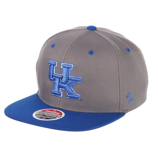 """Picture of University of Kentucky Z11 """"UK"""" Slate Snapback by Zephyr"""