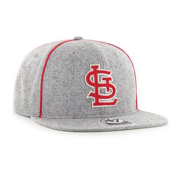 Picture of 47 Brand St.  Louis Cardinals Grey Wool Snapback Hat