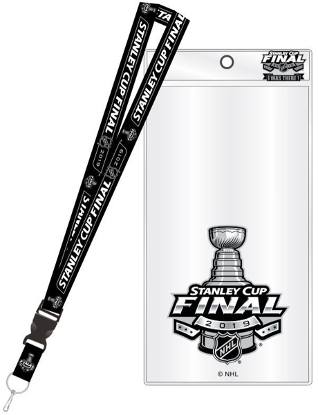 Picture of NHL 2019 Stanley Cup Final Lanyard Ticket Holder