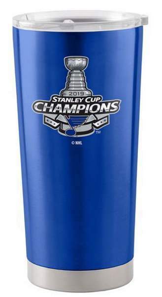 Picture of St. Louis Blues Boelter 2019 Stanley Cup Final Champions 20 oz. Insulated Ultra Tumbler with Lid
