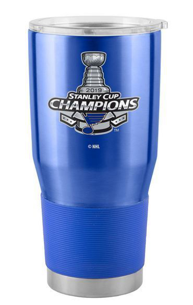 Picture of St. Louis Blues Boelter 2019 Stanley Cup Final Champions 30 oz. Insulated Ultra Tumbler with Lid