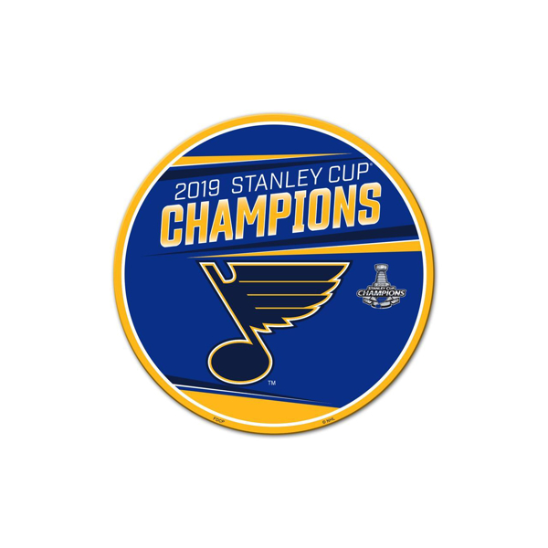 "Picture of St. Louis Blues Freemont Die 2019 Stanley Cup Final Champions Series 12"" Magnet"