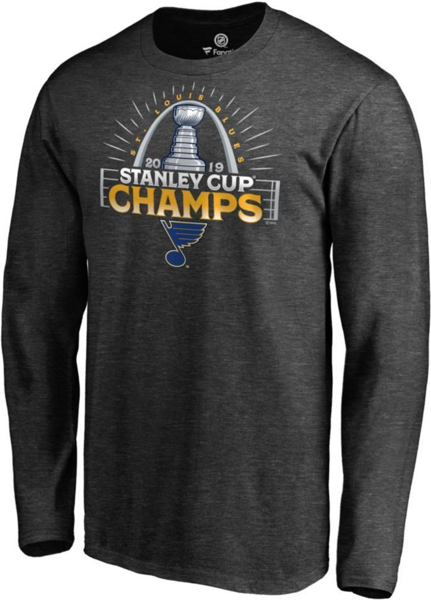Picture of NHL Men's 2019 Stanley Cup Champions St. Louis Blues Parade Long Sleeve Shirt