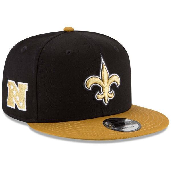 Picture of New Era New Orleans Saints 9FIFTY Baycik Snap Snapback Hat