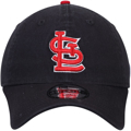 Picture of St. Louis Cardinals New Era Core Fit Replica 49FORTY Fitted Hat - Navy
