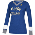 Picture of Adidas St. Louis Blues Long Sleeve Women Henley
