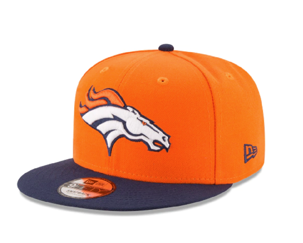 Picture of New Era 9Fifty 2 Tone NFL Denver Broncos V2 Team Snapback Hat