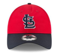 St. Louis Cardinals New Era 2018 Batting Practice  9TWENTY Adjustable Hat - Red/Navy