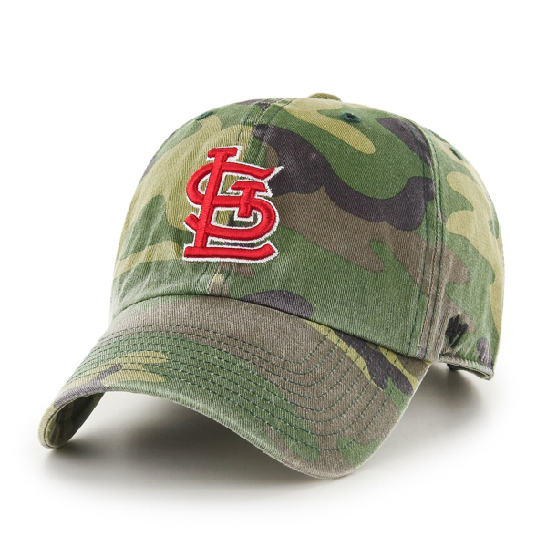 '47 Brand Customer Camo St. Louis Cardinals Custom Clean Up Cap