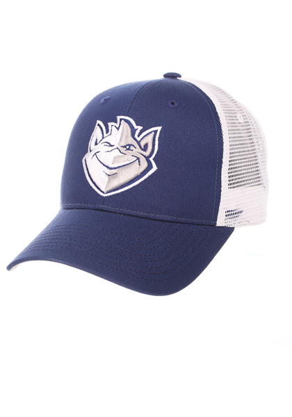 Zephyr Saint Louis Billikens Big Rig Adjustable Hat - Blue - ADJ