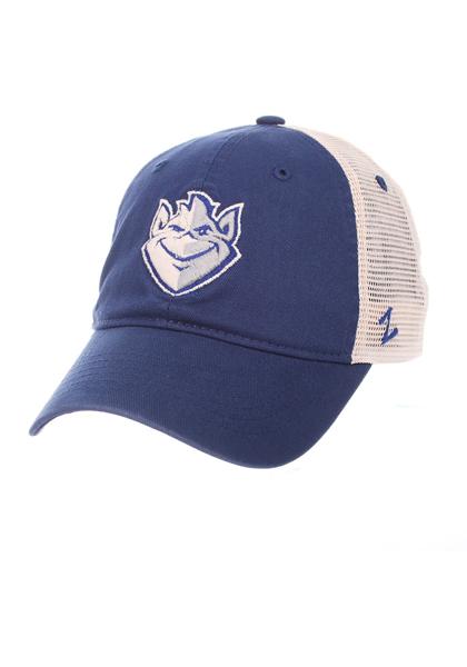 Zephyr Saint Louis Billikens University Adjustable Hat - Blue, Blue, POLYESTER, Size ADJ