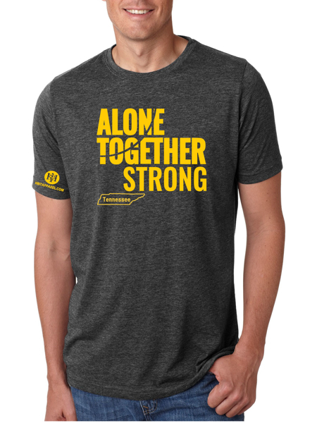 Tennessee Alone Together Stay Strong Next Level Tee
