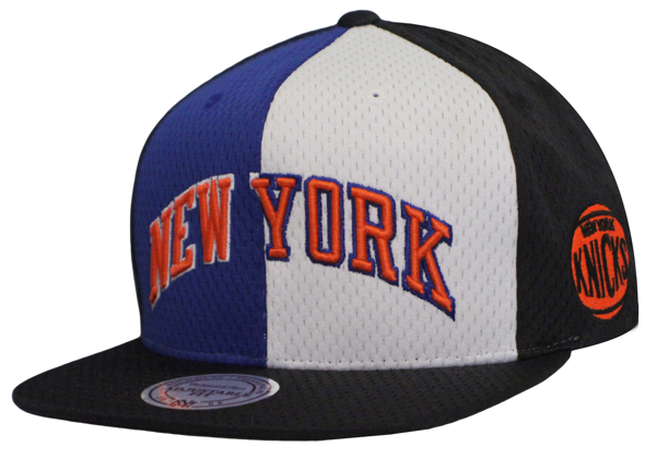 Picture of New York Knicks Mitchell & Ness Division Home Snapback