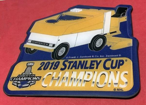 St. Louis Blues 2019 NHL Stanley Cup Champions Zamboni Magnet