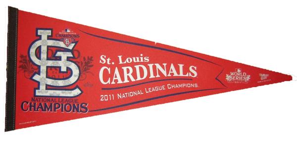 2011 St Louis Cardinals Baseball NL Champions MLB Pennant