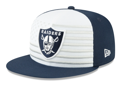 Las Vegas Raiders New Era 2019 NFL Draft Spotlight 59FIFTY Fitted Hat - White/Navy