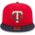 Minnesota Twins New Era Red/Navy Authentic Collection On-Field Alternate 2 59FIFTY Fitted Hat